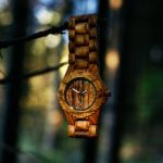 Zebra Wood Watch